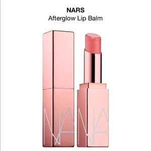 NARS afterglow lip balm in orgasm peachy pink NWOT